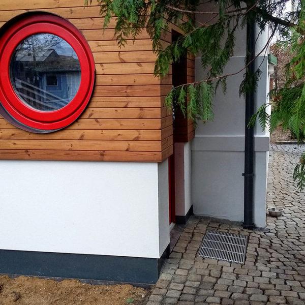 Dobřichovice, realizace dřevostavby